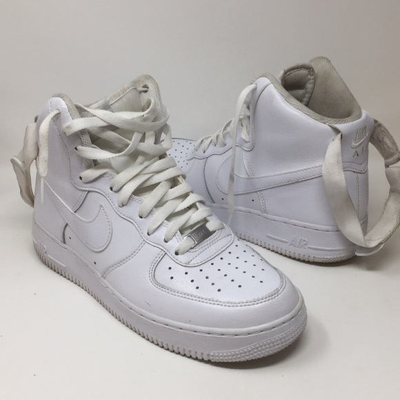 Nike Air Force 1 Mid White Shoes AF1 07 8.5 8 Mens
